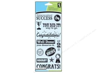 Scrapbooking & Paper Crafts  Stamps  Rubber Stamp: Inkadinkado Clear Stamp Congratulations