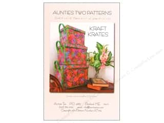 By Annie Purses, Totes & Organizers Patterns: Aunties Two Kraft Krates Pattern
