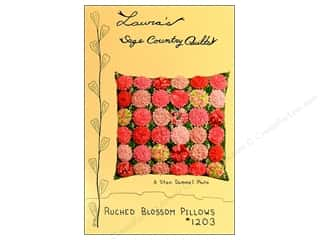 Ruched Blossom Pillow Pattern