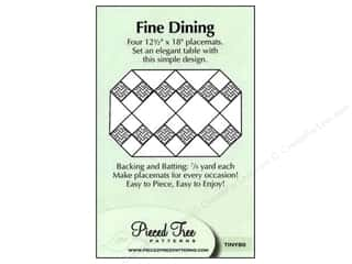 "Pieced Tree Patterns 10"": Pieced Tree Tiny Fine Dining Pattern"