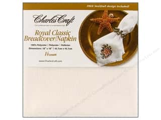 Charles Craft Breadcover White
