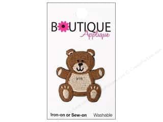 Blumenthal Applique Boutique Brown Teddy Bear