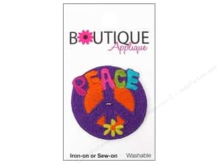 Blumenthal Boutique Applique 1 1/2 in. Peace Sign