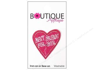 Blumenthal Applique Boutique Best Friends Heart