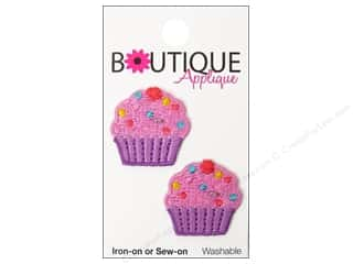 Blumenthal Applique Boutique Pink & Purple Cupcake