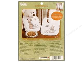 Bucilla Xstitch Kit Quilted Bibs Our/Blessing