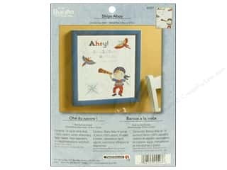 Bucilla Cross Stitch Kit Birth Record Ships Ahoy
