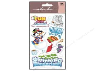 Winter Wonderland: EK Sticko Stickers Winter Fun