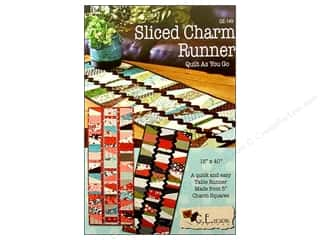 Sliced Charm Runner Pattern
