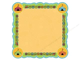 Best Creation Chipboard Shapes: Best Creation 12 x 12 in. Paper Die Cut Loops And Scoops Train Game (25 sheets)