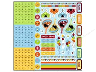 Best of 2012 ABC & 123: Best Creation Glitter Combo Stickers 350 pc. Loops And Scoops