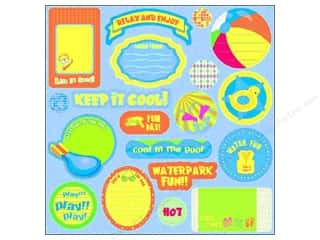 Best Creation Expression Chipboard 19 pc. Splash Fun