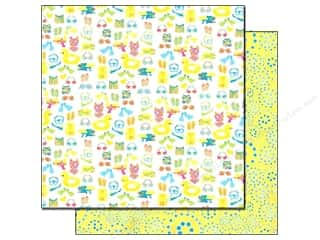 Best Creation Printed Cardstock: Best Creation 12 x 12 in. Paper Splash Fun Collection Stay Cool (25 sheets)