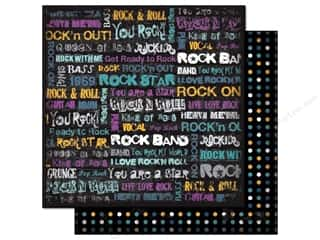 Best Creation Paper 12x12 Rock Star Love RockNRoll (25 sheets)