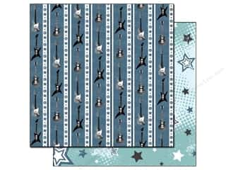 Black Cat Creations Clearance Patterns: Best Creation 12 x 12 in. Paper Rock Star Collection Stars (25 sheets)
