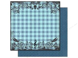 Best Creation Paper 12x12 Rock Star Punk Plaid (25 sheets)