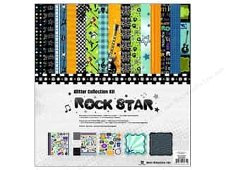 sticker: Best Creation Glit Collection Kit 12x12 Rock Star