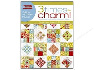 Leisure Arts Summer Fun: Leisure Arts Three Times The Charm Book