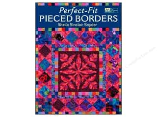 Books $3-$5 Clearance: Perfect Fit Pieced Borders Book