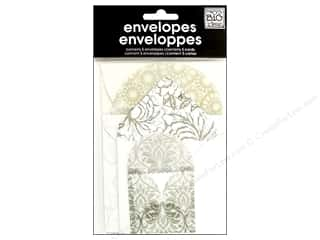 MAMBI Envelopes Mini Wedding Grey 5pc