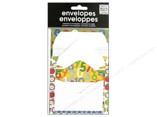 Clearance MAMBI Envelopes: MAMBI Mini Envelopes School Days by Ellen Krans