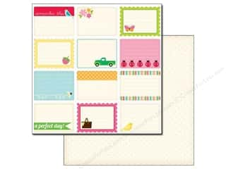 Echo Park 12 x 12 in. Paper Country Drive Journaling (25 sheets)