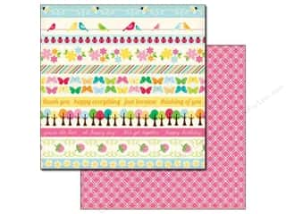 Echo Park Paper 12x12 Country Drive Border Strip (25 sheets)
