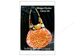 Tote Bag Flowers: A Pieceable Pear Mongo Flower Carry All Pattern