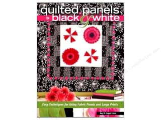 Quilted Panels In Black & White Book