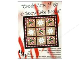 Pattern $0-$2 Clearance: Candy Cane Hugs & Snowflake Kisses Pattern