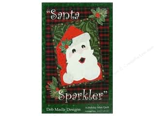 Patterns Clearance $0-$2: Deb Madir Designs Patterns Santa Sparkler Pattern