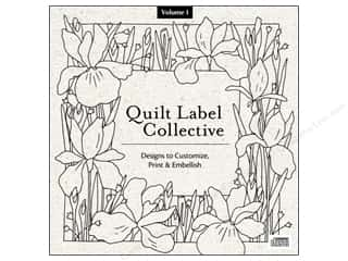 DVD Video Clearance Books: C&T Publishing Quilt Label Collective CD - Volume 1