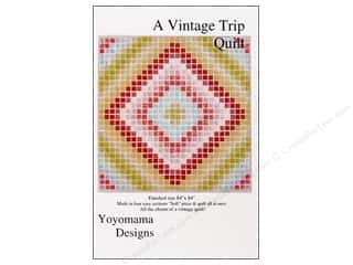 Quilting Patterns: Yoyomama Designs A Vintage Trip Quilt Pattern
