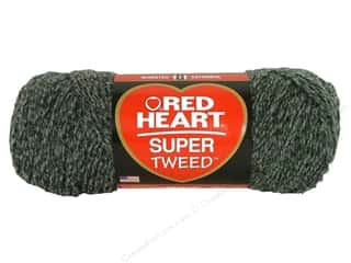 C: Red Heart Super Tweed Yarn #7404 Smokey 266 yd.