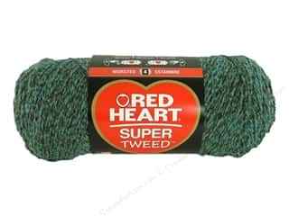 Hearts: Coats & Clark Red Heart Super Tweed Yarn 5oz Landshark