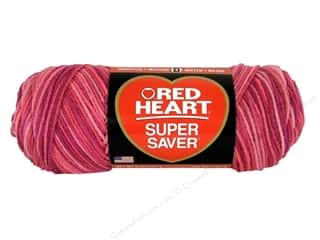 Red Heart Super Saver Yarn #707 Pink Tones 5 oz.