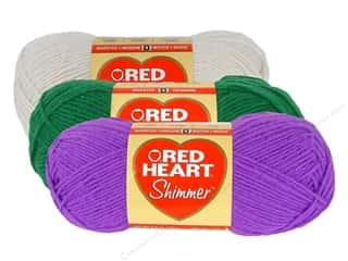 yarn: Red Heart Shimmer Yarn