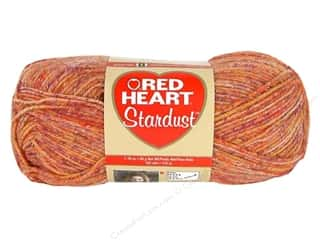 wool yarn: C&amp;C Red Heart Stardust 1.76oz Orange