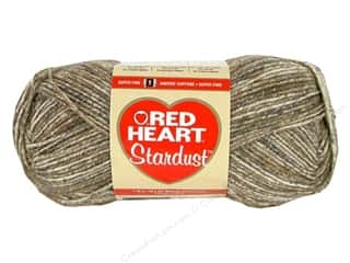 tweed yarn: C&C Red Heart Stardust 1.76oz Brown