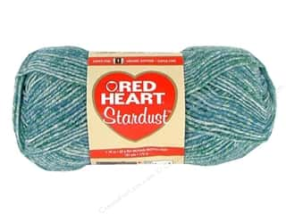 tweed yarn: C&C Red Heart Stardust 1.76oz Blue
