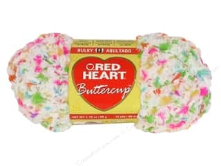 Hearts Yarn & Needlework: Red Heart Buttercup Yarn #4278 Carnival