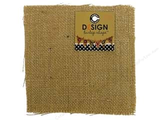 Canvas Corp Blank Shape Burlap Square