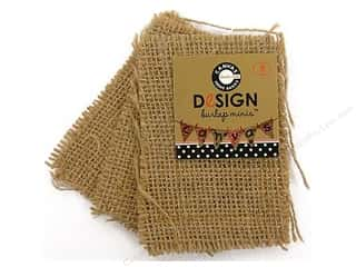 Canvas Corp Burlap Shape Mini Rectangle 3 pc.