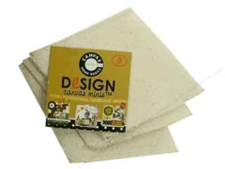 Canvas Bazzill: Canvas Corp Blank Shape Canvas Minis Diamond 3pc