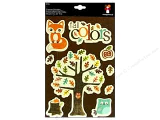 2013 Crafties - Best Adhesive: Imaginisce Sticker Happy Harvest Canvas Fall Color