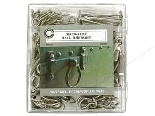 Hardware Clearance Crafts: Canvas Corp Decorative Wall Hardware Kit Nickel