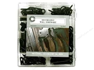 Hardware Clearance Crafts: Canvas Corp Decorative Wall Hardware Kit Black Iron