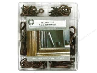 Canvas Corp Decorative Wall Hardware Kit Antique Bronze