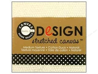 "Canvas Corp Blank Stretched Canvas Natural 2""x 2"""