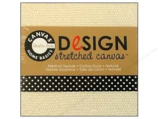 Canvas Home Basics Craft Home Decor: Canvas Corp Stretched Canvas 3 x 3 in. Natural